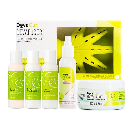 kit-no-poo-one-condition-angell-set-it-free-120ml-heaven-250gr-devafuser-devacurl